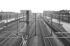 Holländska järnvägar 2017 Arkivfoton