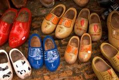 holländska skor Fotografering för Bildbyråer
