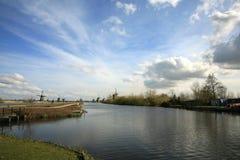holländska windmills Royaltyfri Bild