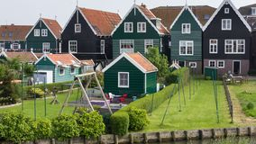 Holländskt fiskarehus Royaltyfri Foto