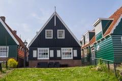 Holländskt fiskarehus Arkivbild