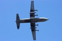 Holländskt flygvapen C-130 Hercules Arkivbild