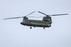 Holländskt flygvapen Chinook Arkivbild