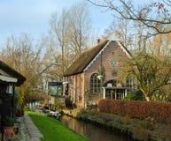 holländskt hus Arkivbild