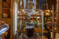 Holländskt kallt vattenkaffe arkivbild