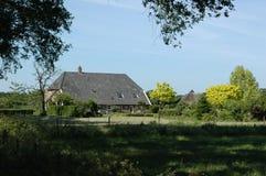 holländskt lantbrukarhem Fotografering för Bildbyråer