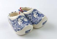 Holländskt porslin stoppar till souvenir royaltyfria foton