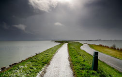 holländskt väder arkivfoton