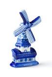 holländsk souvenirwindmill Arkivbild