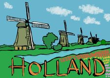 holland Stock Afbeelding