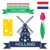 holland illustration libre de droits