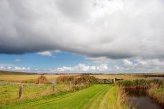Holland achter de duinen Royalty-vrije Stock Fotografie