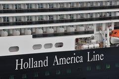 Holland America Line Imagen de archivo libre de regalías