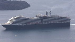 Holland America Line's Eurodam Cruise Ship stock video