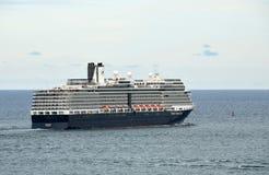 Holland America-schip die haven verlaten Royalty-vrije Stock Afbeeldingen