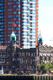 Holland-Amerika Lijn in Rotterdam, Nederland Stock Afbeelding