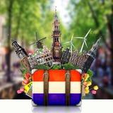 Holland, Amsterdam landmarks, travel Stock Images
