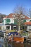 Holland auf der Lieferung lizenzfreies stockbild