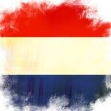 Holland bandery Obrazy Royalty Free
