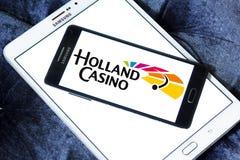 Holland Casino-embleem royalty-vrije stock afbeeldingen