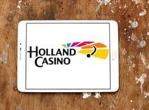 Holland Casino-embleem stock afbeeldingen