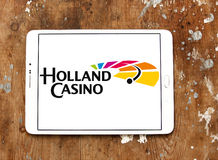 Holland Casino logo. Logo of Holland Casino on samsung tablet. Holland Casino has the legal monopoly on gambling in the Netherlands, and has fourteen casinos Stock Images