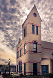 Holland City Hall en Firehouse 2 stock foto's