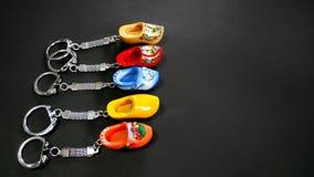 Holland Clog Keychain Photographie stock libre de droits
