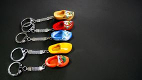 Holland Clog Keychain Royalty Free Stock Photography