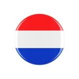 Holland 3d knapp Royaltyfri Fotografi