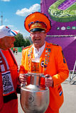 Holland fan Royalty Free Stock Photography