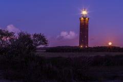 holland fyr Fotografering för Bildbyråer