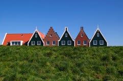 Holland-Häuser Lizenzfreies Stockbild