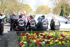 Holland Hells Angels. Royaltyfri Foto