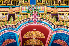 Holland Hindu temple Stock Image