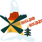 Holland Holiday Royalty Free Stock Photography