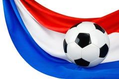 Holland houdt van voetbal Stock Foto