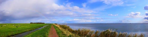 holland krajobraz Zdjęcia Royalty Free