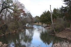 Holland Lake i Weatherford Texas Royaltyfria Foton
