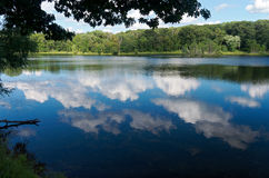Holland Lake Scenic em Eagan Fotografia de Stock