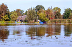 Holland Lake Stock Image