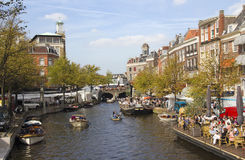 holland leiden Fotografering för Bildbyråer