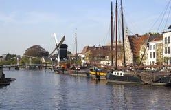 holland leiden Arkivfoto