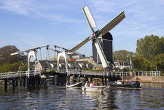 holland leiden Royaltyfri Foto