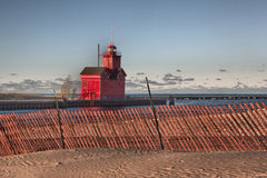 Holland Lighthouse images stock