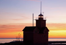 Holland Lighthouse Royalty Free Stock Photography