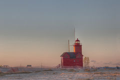 Holland Lighthouse Royalty Free Stock Photos