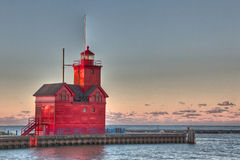 Holland Lighthouse Stock Images