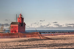 Holland Lighthouse Stock Photography