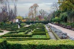 Holland Park localizó en Londres, Reino Unido Foto de archivo